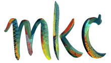 MKC logo with colorful details